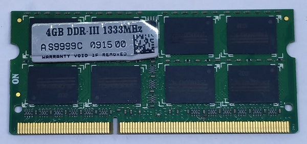 4GB DDR3 RAM for Laptop (Working)