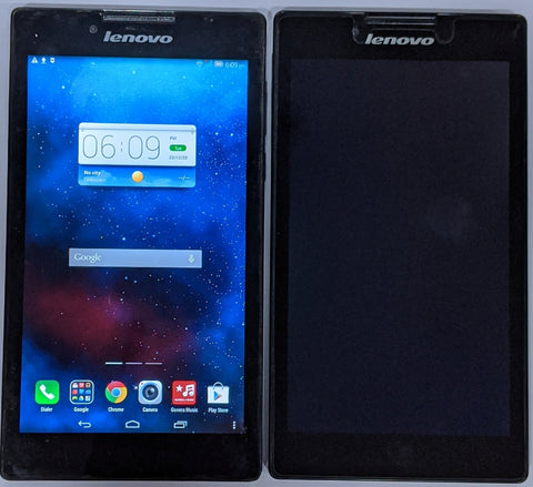 Combo of  2 Used Lenovo Tab 2 (A7-30HC) Wi-Fi Black Tablets