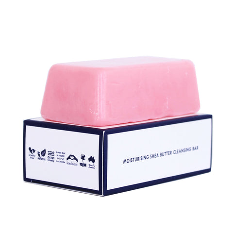 Watermelon & Pink Grapefruit - Shea Butter Cleansing Bar