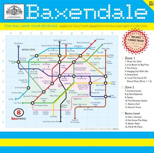 Baxendale - You Will Have Your Revenge