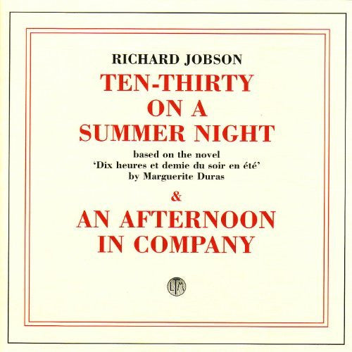 Richard Jobson - 1030 On a Summer Night / An Afternoon in Company