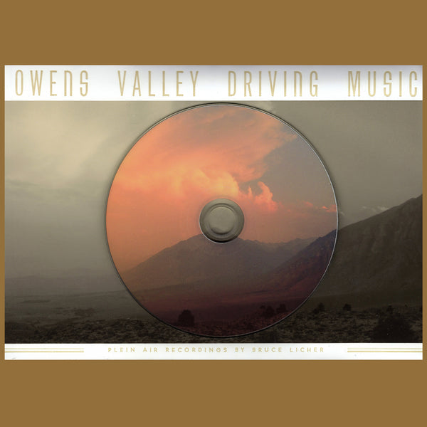 Bruce Licher - Owens Valley Driving Music
