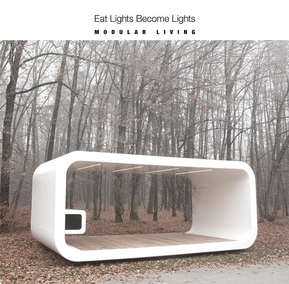 Eat Lights Become Lights - Modular Living