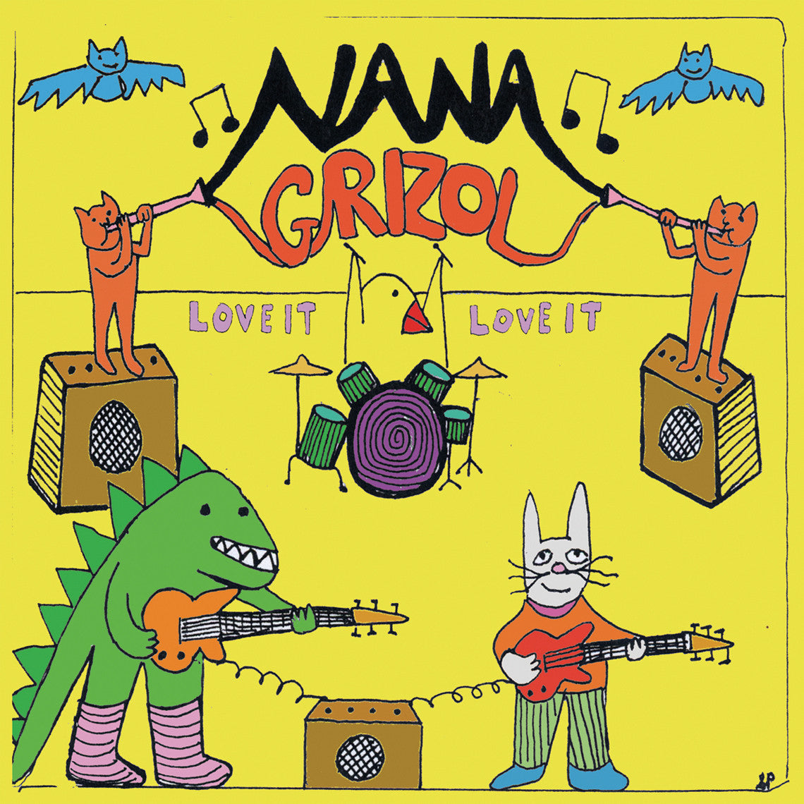 Nana Grizol - Love it, Love it