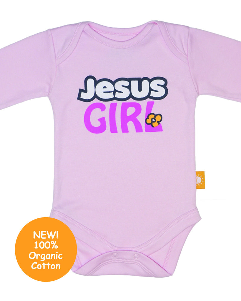 Jesus Girl! 100% organic cotton baby onesies by Glorious Seed ...