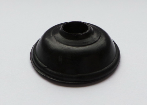 M6 Black Plastic Spat Washer (100)