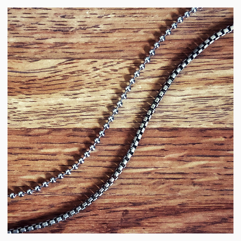 Men's Chains from Sandy Steven Engravers