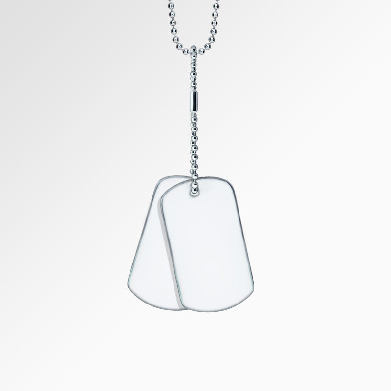 Shop for Men's Stainless Steel Dog Tags