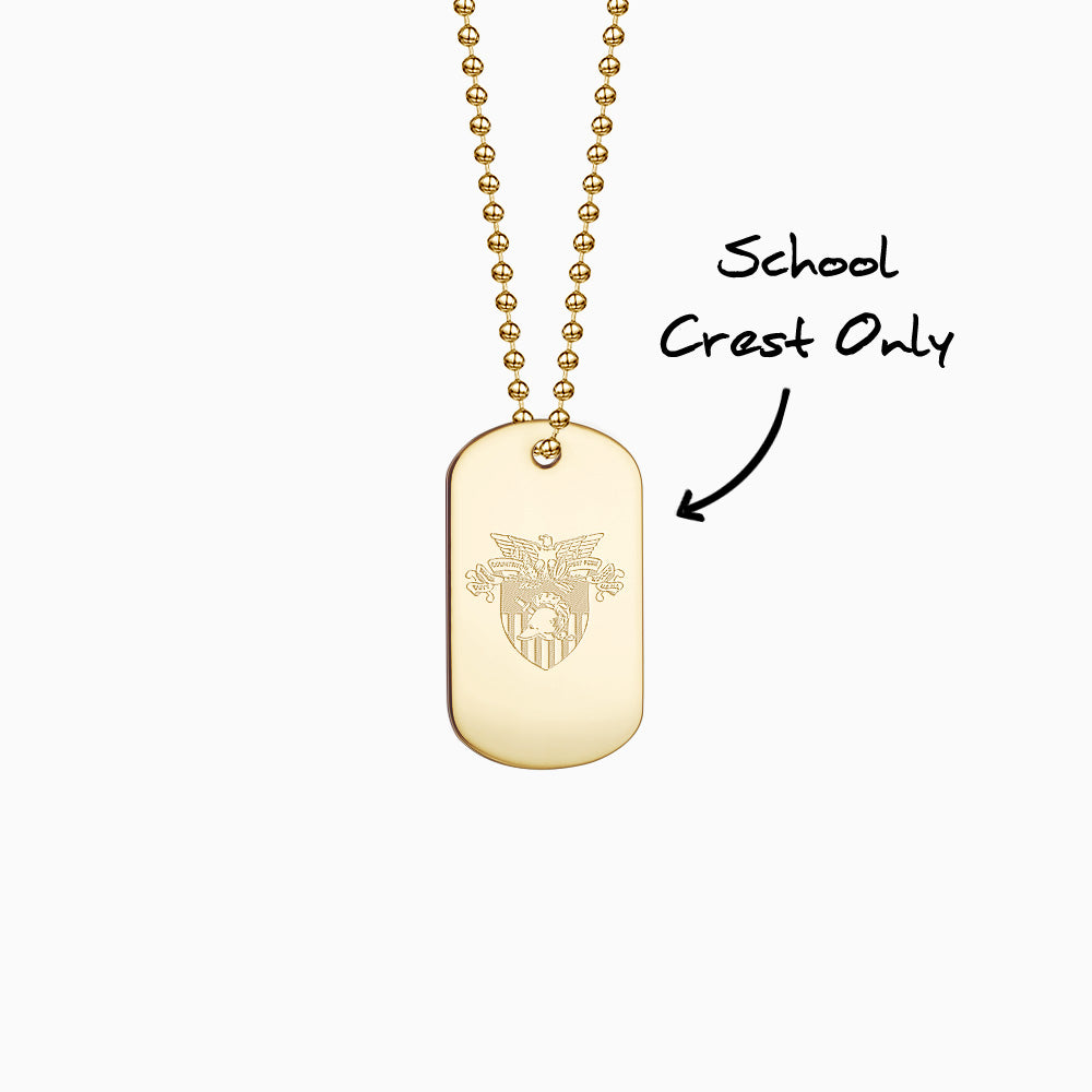 Engrave school logo only