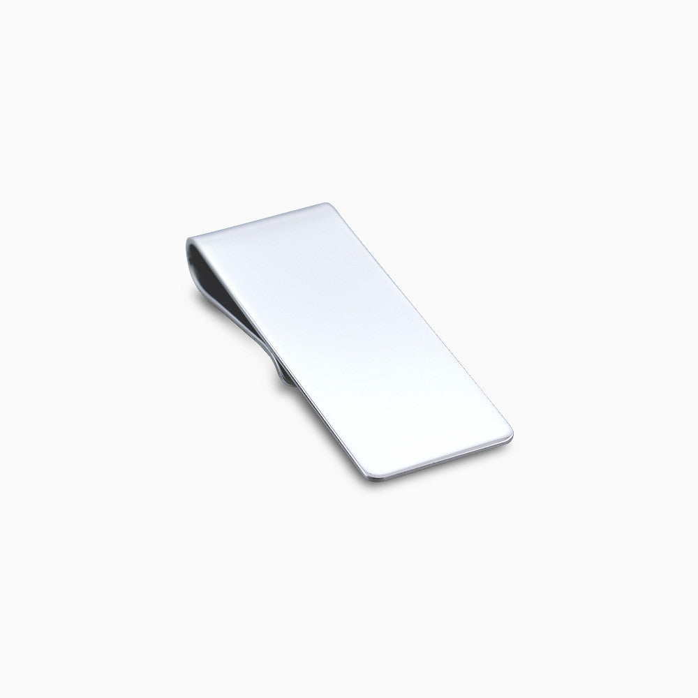 Sterling Silver Classic Money Clip (Engravable)