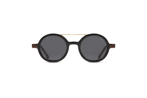 The Vivien Acetate Black Tortoise