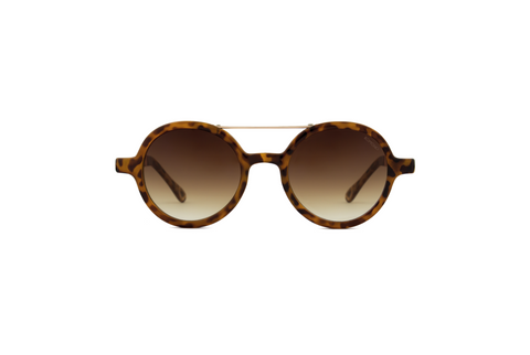 Vivien Metal Series Tortoise Rose Gold
