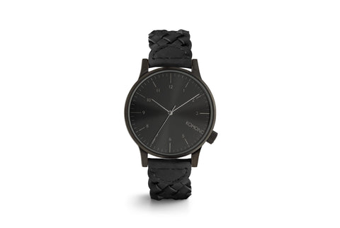 Winston Woven All Black