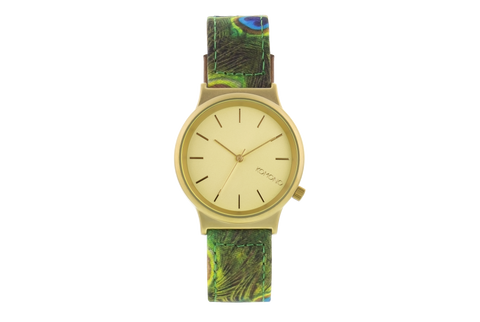 Wizard Print Peacock watch