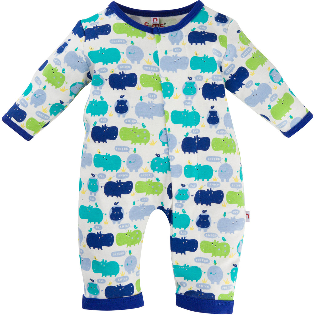 Boy Hippo Coverall