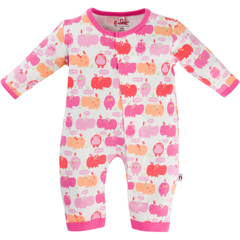 Girl Hippo Coverall