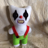 Custom Clown Fuggler™ - 25cm tall. Made to Order. BRINGER OF JOY. HARBINGER OF MIRTH.