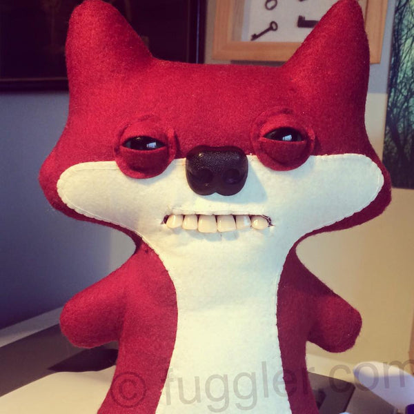 Custom Suspicious Fox Fuggler™ - made to order.