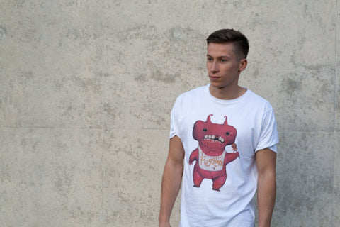XXLARGE Short Sleeve Fuggler™ T-Shirt by Jamie P - Limited Edition.