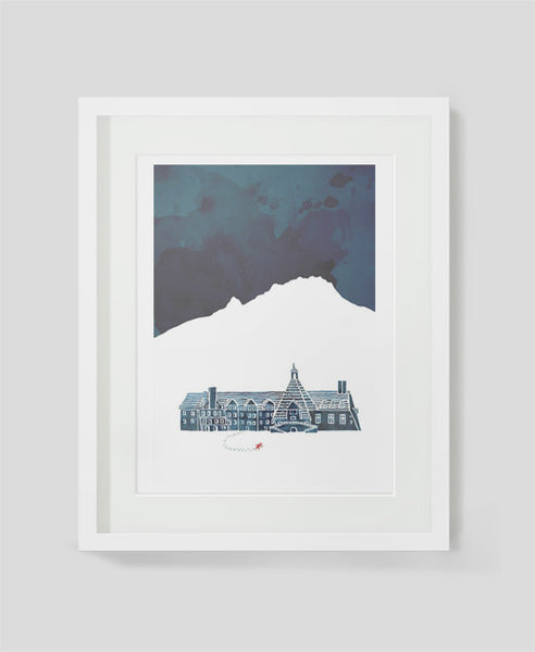 Framed art print The Overlook by Alex Latimer