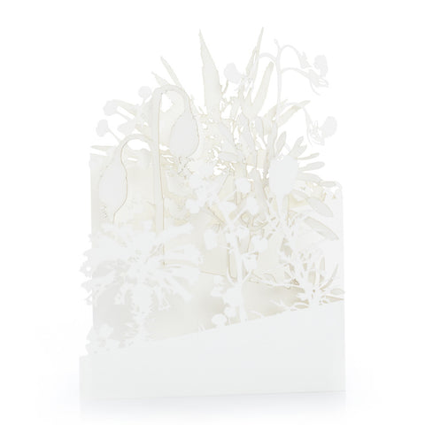Exquisite and delicate paper cut cards, Botanical by Artymiss