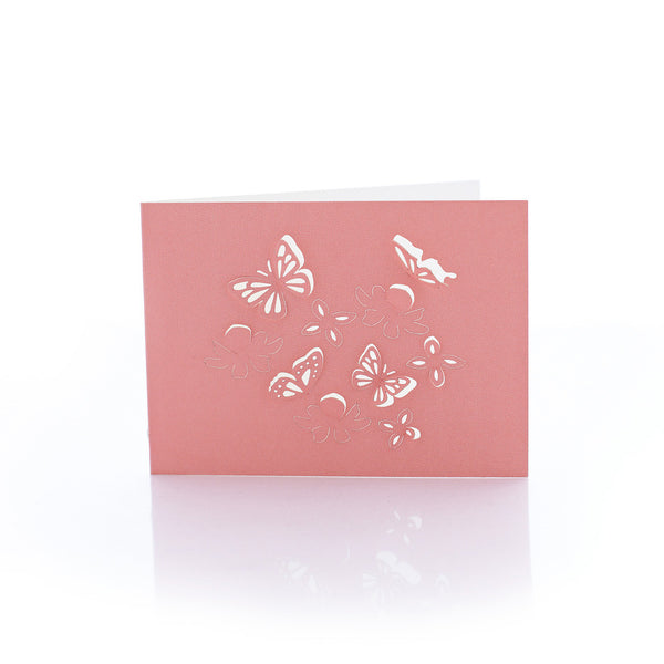 Exquisite and delicate little paper card, Butterfly by Artymiss