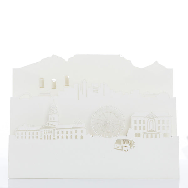 Exquisite and delicate paper cut cards, Cape Town by Artymiss