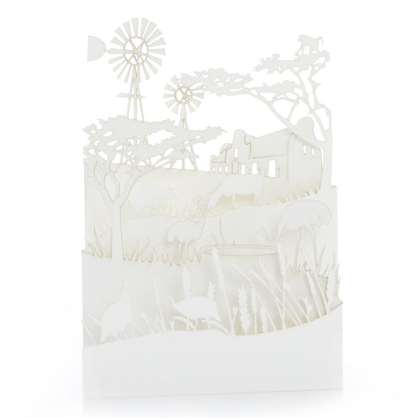 Exquisite and delicate paper cut cards, Karoo by Artymiss