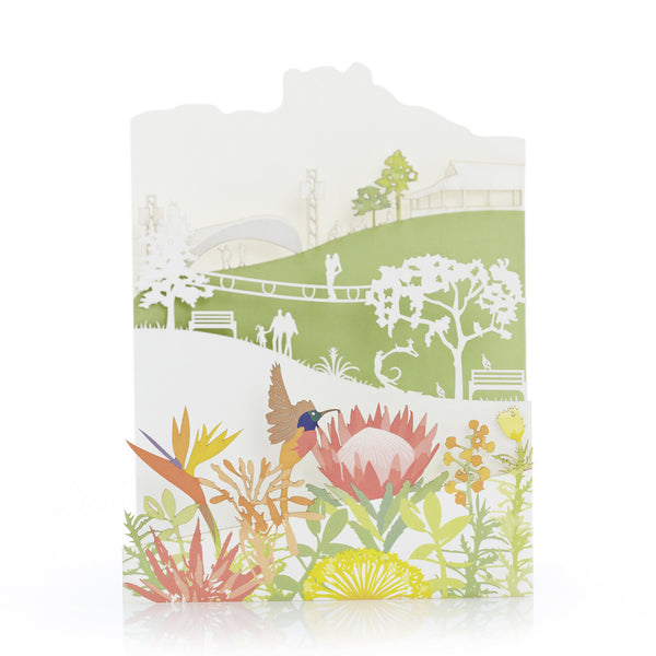 Exquisite and delicate paper cut cards, Kirstenbosch by Artymiss