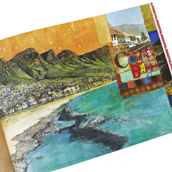 Postcard set from Cape Town: An Illustrated Poem by Julia Mary Grey