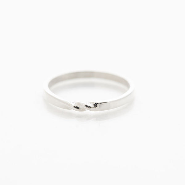Silver Twist Ring by Long Jean Silver