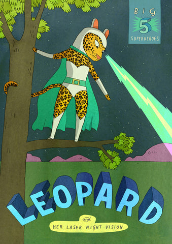 Art print Big Five: Leopard by Patrick Latimer