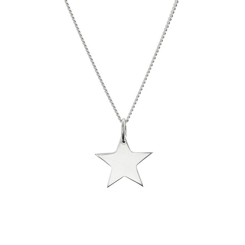 Tiny Star pendant close-up