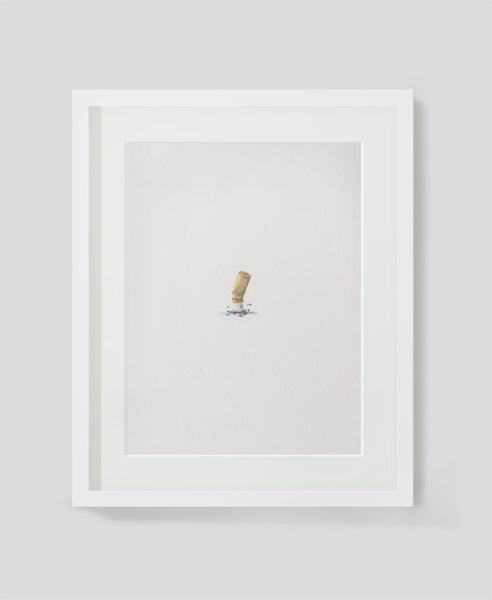 Framed limited Edition Art print by Sarah Wocknitz entitled Bud II
