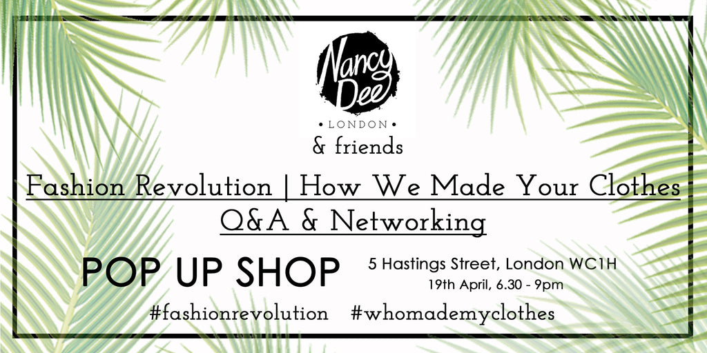 Fashion Revolution | How We Made Your Clothes Q&A & Networking Event