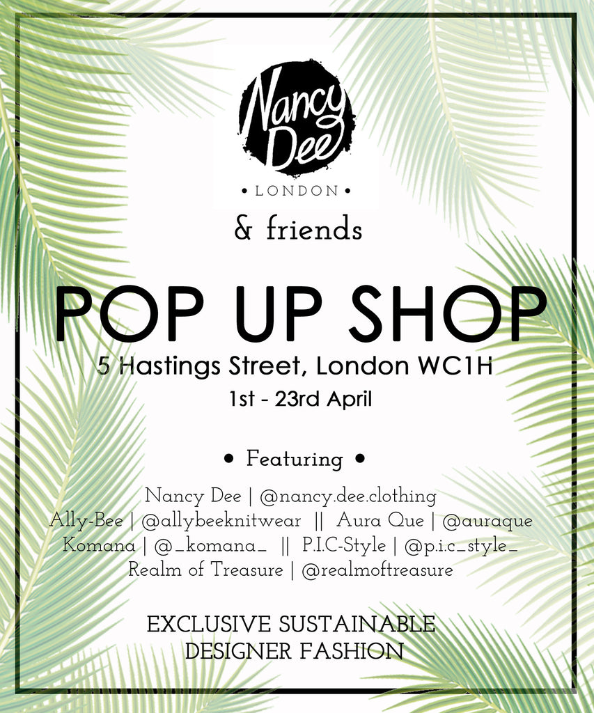 Nancy Dee & Friends Pop up Launch