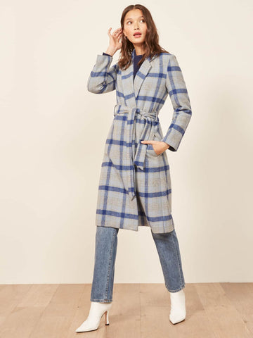 Reformation patterned coat