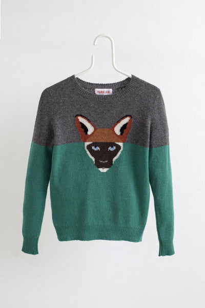 FOXIE HYBRID SWEATER