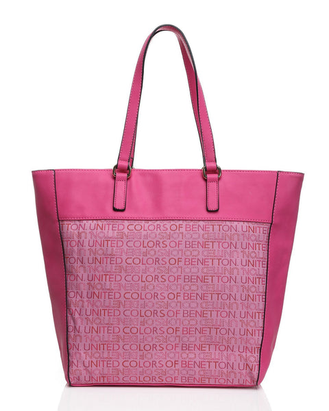 Fuchsia Canvas Tote Bag-Jezzelle