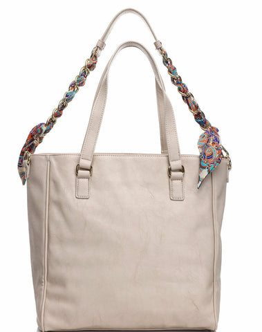Nude Tote Bag-Jezzelle