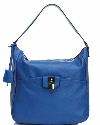 Padlock & Key Shoulder Bag-Jezzelle