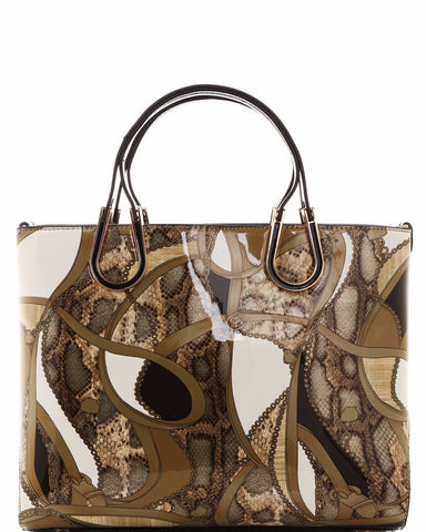 Mixed Animal Print Tote Bag