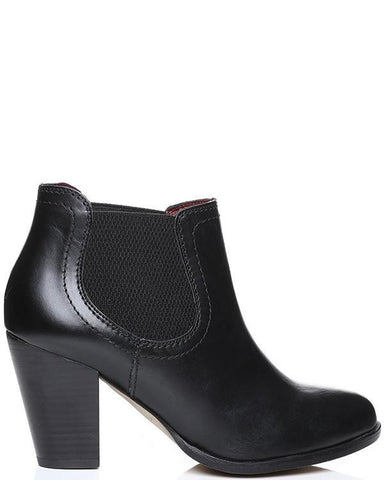 Versace Classic Leather Ankle Boots - Jezzelle