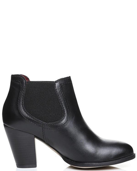 Versace Classic Leather Ankle Boots-Jezzelle