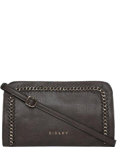 Chain trimmed Crossbody Bag - Jezzelle