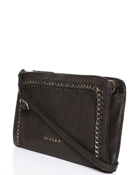 Chain trimmed Crossbody Bag-Jezzelle