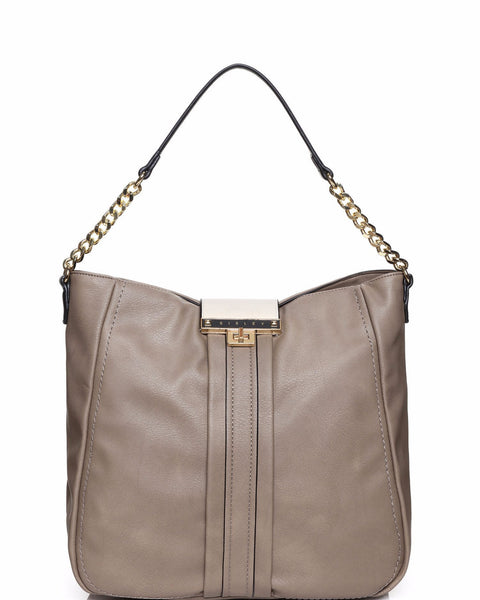 Chain Strap Shoulder Bag - Jezzelle