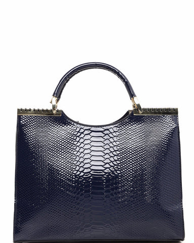 Metal Details Tote Bag