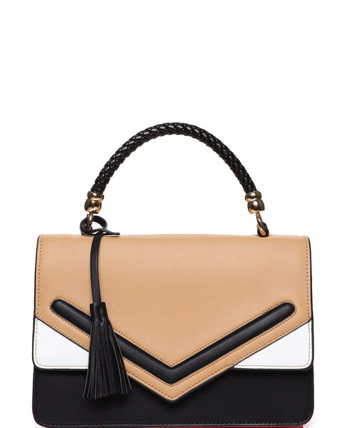 Colorblock Envelope Satchel - Jezzelle