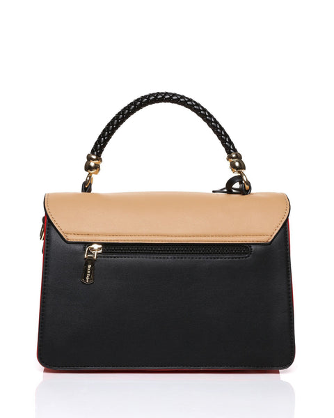 Colorblock Envelope Satchel-Jezzelle